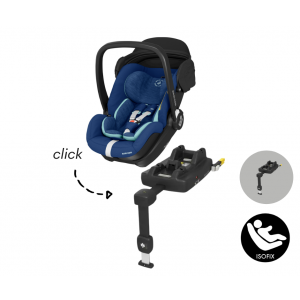 Autostoel Maxi-Cosi Marble met Isofixbase I-Size Essential Blue