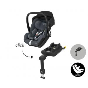 Autostoel Maxi-Cosi Marble met Isofixbase I-Size Essential Graphite