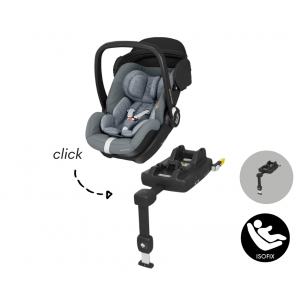Autostoel Maxi-Cosi Marble met Isofixbase I-Size Essential Grey
