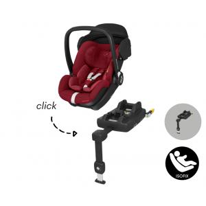 Autostoel Maxi-Cosi Marble met Isofixbase I-Size Essential Red