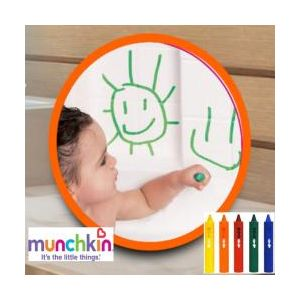 Munchkin Bath Crayons - 5 Badkrijtjes