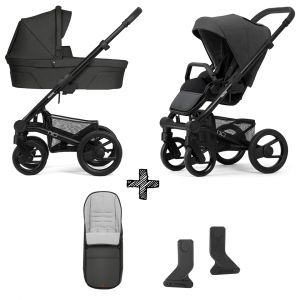 Kinderwagen Mutsy Nio 2020 - Explore Shade met Voetenzak & Adapterset