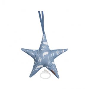 Muziekdoos Ster Little Dutch Ocean Blue