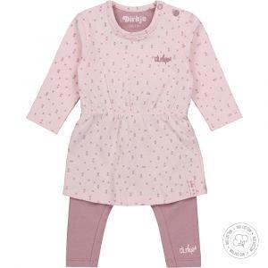 Set 2-delig Dirkje NOOS Bio Cotton Mauve/Light Pink