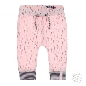 Broek Dirkje NOOS Bio Cotton All-over Light Pink