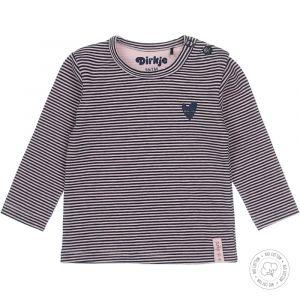 Shirt Dirkje NOOS Bio Cotton Navy/Light Pink