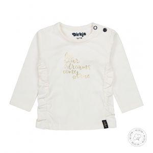 Shirt Dirkje NOOS Bio Cotton Gold/Off White