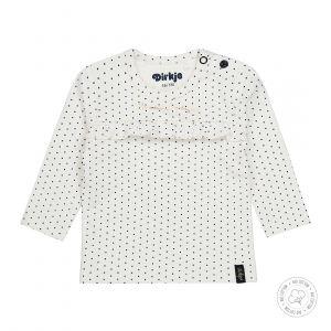 Shirt Dirkje NOOS Bio Cotton Dots Off White