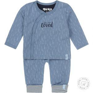 Babypakje 2-delig Dirkje NOOS Bio Cotton Blue