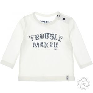 Shirt Dirkje NOOS Bio Cotton Trouble Off White