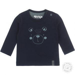 Shirt Dirkje NOOS Bio Cotton Animal Navy