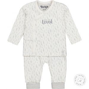 Babypakje 2-delig Dirkje NOOS Bio Cotton Off White