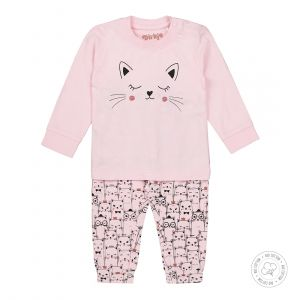 Pyjama Baby Dirkje NOOS Bio Cotton Light Pink