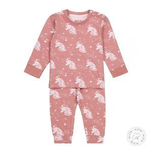 Pyjama Baby Dirkje NOOS Bio Cotton Ash Pink