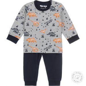 Pyjama Baby Dirkje NOOS Bio Cotton Grey Melee/Navy