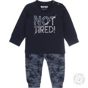 Pyjama Baby Dirkje NOOS Bio Cotton Army Navy