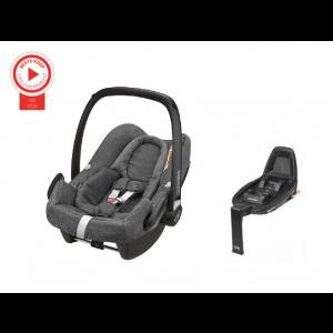 Autostoel Maxi Cosi Rock Sparkling Grey + Base FamilyFix2