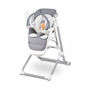 Babyswing Kinderstoel Lionelo Niles Grey