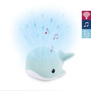 Lichtprojector ZAZU Wally de walvis Blue