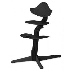 Kinderstoel Nomi Oak Black + Black Zitting + Beugel + Eetblad