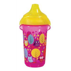 Anti-lek Beker Munchkin CL Deco Sippy Cup Roze/Geel