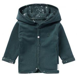 Vest Reversible Noppies NOOS Cardigan Bonny Dark Slate