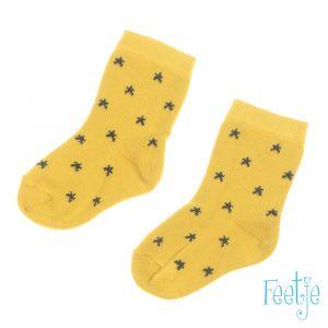 Sokjes Feetje 504.00130 Stars Geel