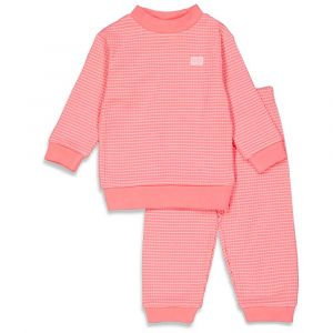 Pyjama Feetje Wafel Summer Special Roze Maat 56 t/m 86