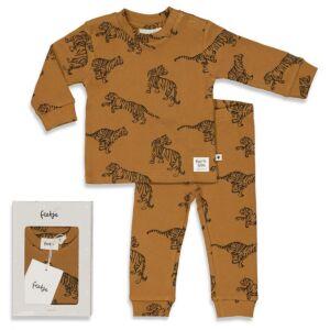 Pyjama Feetje Premium Tiger Terry 56 t/m 86