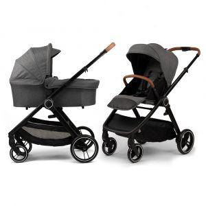 Kinderwagen NoviNeo Grey/Cognac Grip
