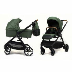 Kinderwagen NoviNeo Green/Cognac Grip