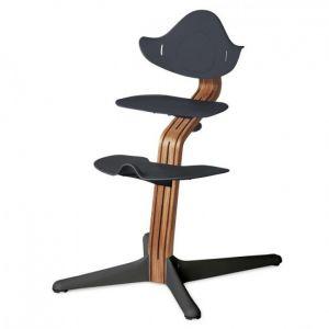 Kinderstoel Nomi Oak Natural + Anthracite Zitting + Beugel + Eetblad