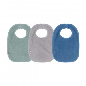 Set Slab Jollein Badstof 3st. Green/Grey/Blue