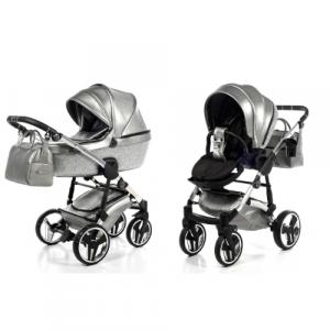 Kinderwagen Junama 2-In-1 Glitter Grey