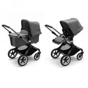 Kinderwagen Bugaboo Fox3 Graphite/Grey Melange
