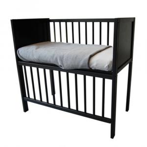 Wieg / Co-sleeper Bedside 40x80 Black