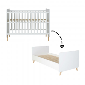 Doorgroeiledikant/Bed Quax Loft White