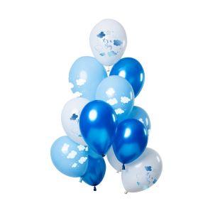 Ballon O'tje Kadootje Clouds Blauw