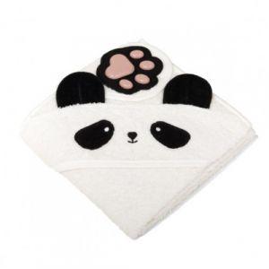 Badcape met een pootje Panda
