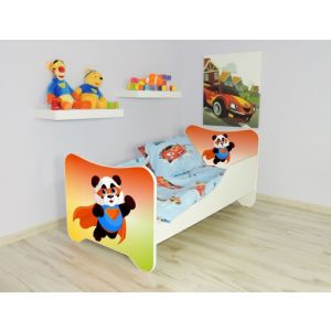 Kleuterbed Top Beds Happy 160x80 Super Panda Incl. Matras + Bedlade