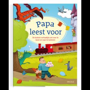 Boek Deltas Uitgeverij - Papa leest voor