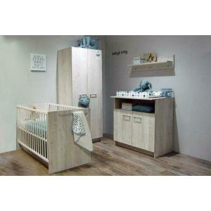 Babykamer Pascal (Ledikant + Commode)