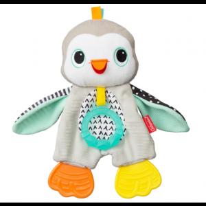Knuffeldoekje Bijtring Infantino Cuddly Teether Penguin