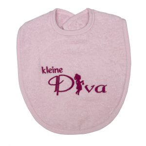 Slabber Petit Villain Kleine Diva Roze
