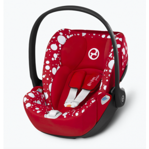 Autostoel CYBEX Cloud Z I-Size Jeremy Scott Petticoat Red