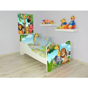 Peuterbed Top Beds Happy 140x70 Afrika Inclusief Matras
