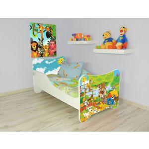 Peuterbed Top Beds Happy 140x70 Boerderij Inclusief Matras