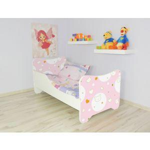 Peuterbed Top Beds Happy 140x70 Kitty Inclusief Matras