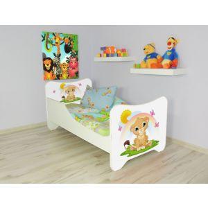 Peuterbed Top Beds Happy 140x70 Leeuwtje Inclusief Matras