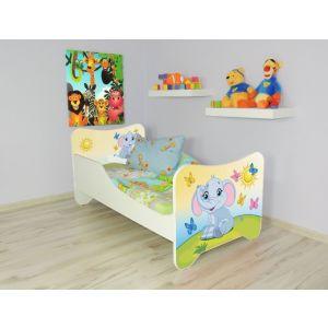 Peuterbed Top Beds Happy 140x70 Olifantje Inclusief Matras